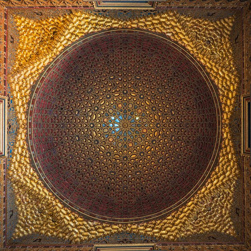 Seville Alcazar Gold Ceiling