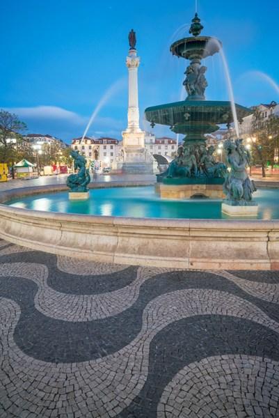 Rossio Fountain