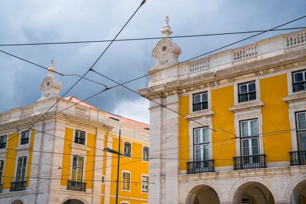 Lisbon Trolly Wires