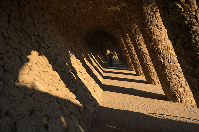 Guell Walkway