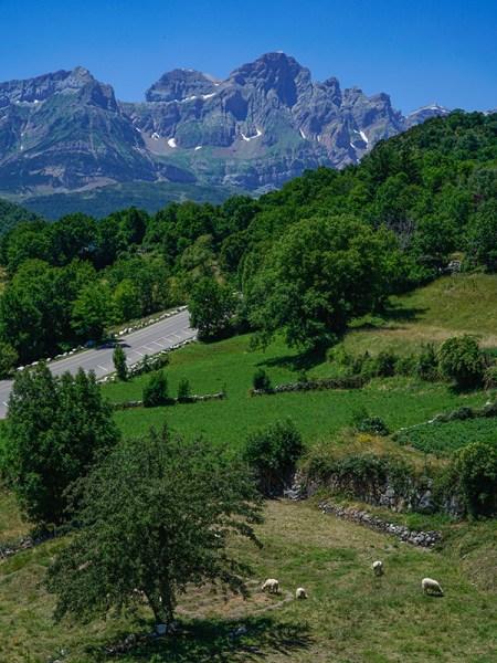 Pyrenees Balcony View