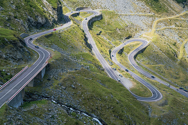 Transfagarasan Switchbacks