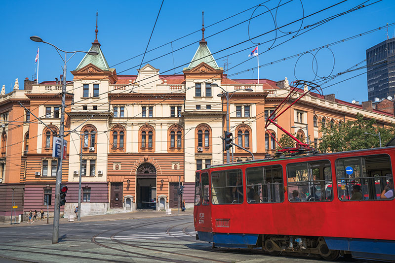 Belgrade Trolly
