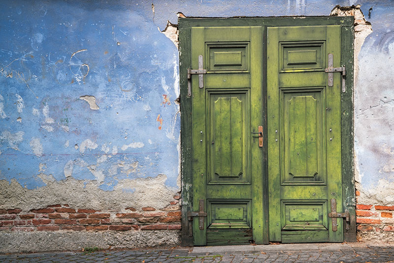 Green Doors of Sibiu