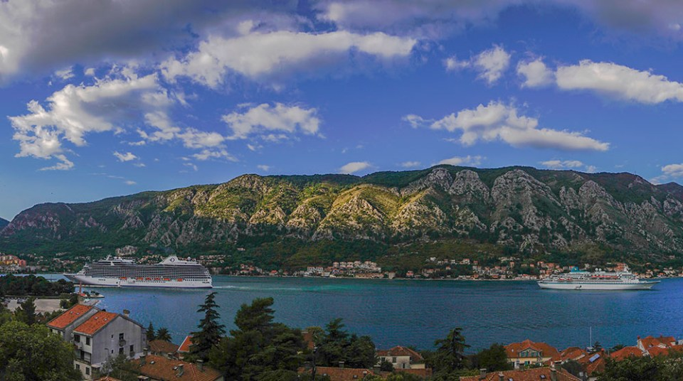 Kotor Panorama, View from our balcony