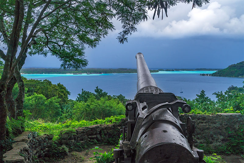 Bora Bora gun turret