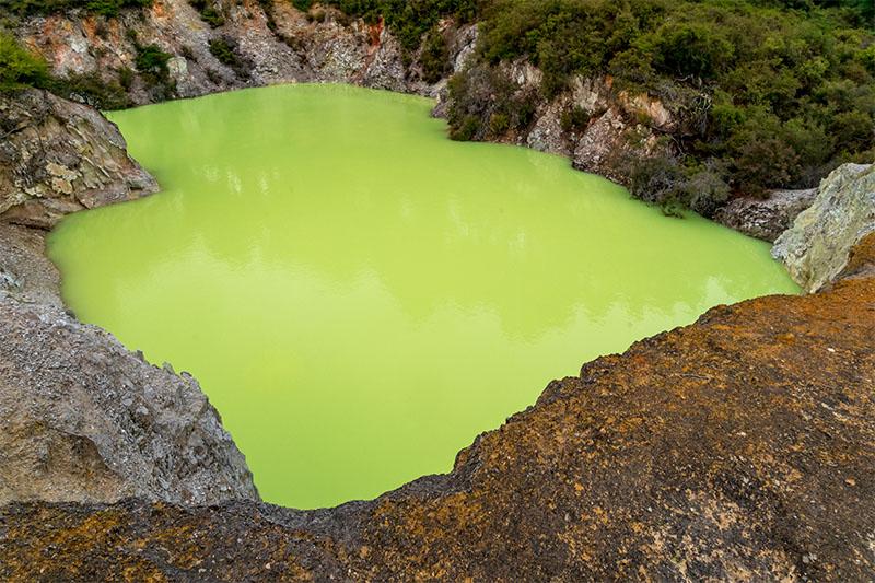 The Green Pool at Wai-O-Tapu