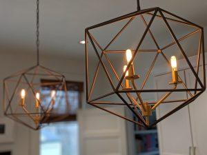 Dramatic Lighting Transforms the Room