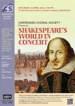 Shakespeare 23 April 2016