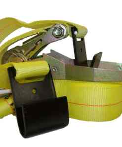 "2"" x 27' Ratchet buckle strap with flat hook ends-0"