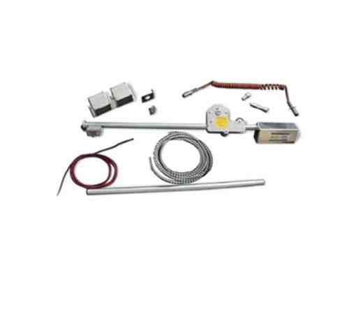 Electric Up-Grade for Latch Plate-Style Roll Tarp System for trucks up to 45'-0