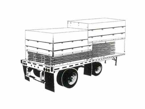 """IMPORT"" Black Standard Lumber Tarp-776"