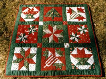CHRISTMAS SAMPLER QUILT PATTERN Patterns For You