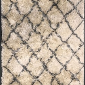 Multi colored rug with pattern