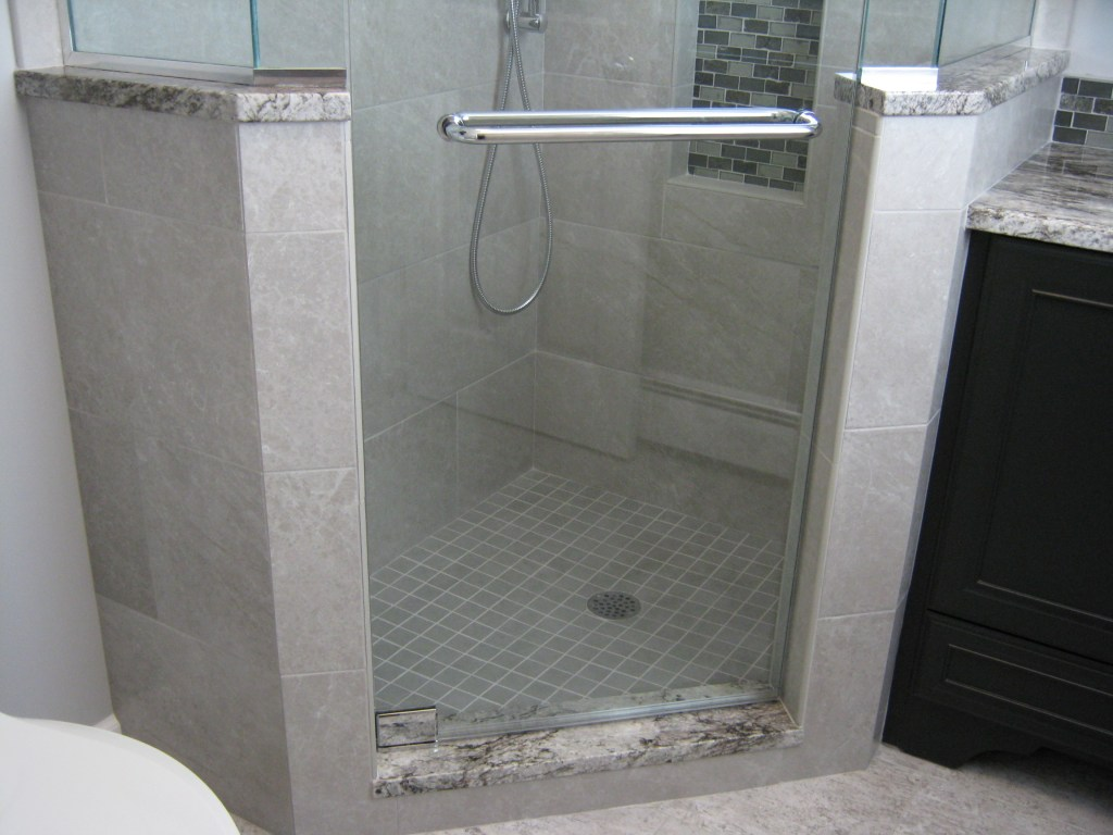 Opulent Tiled Shower