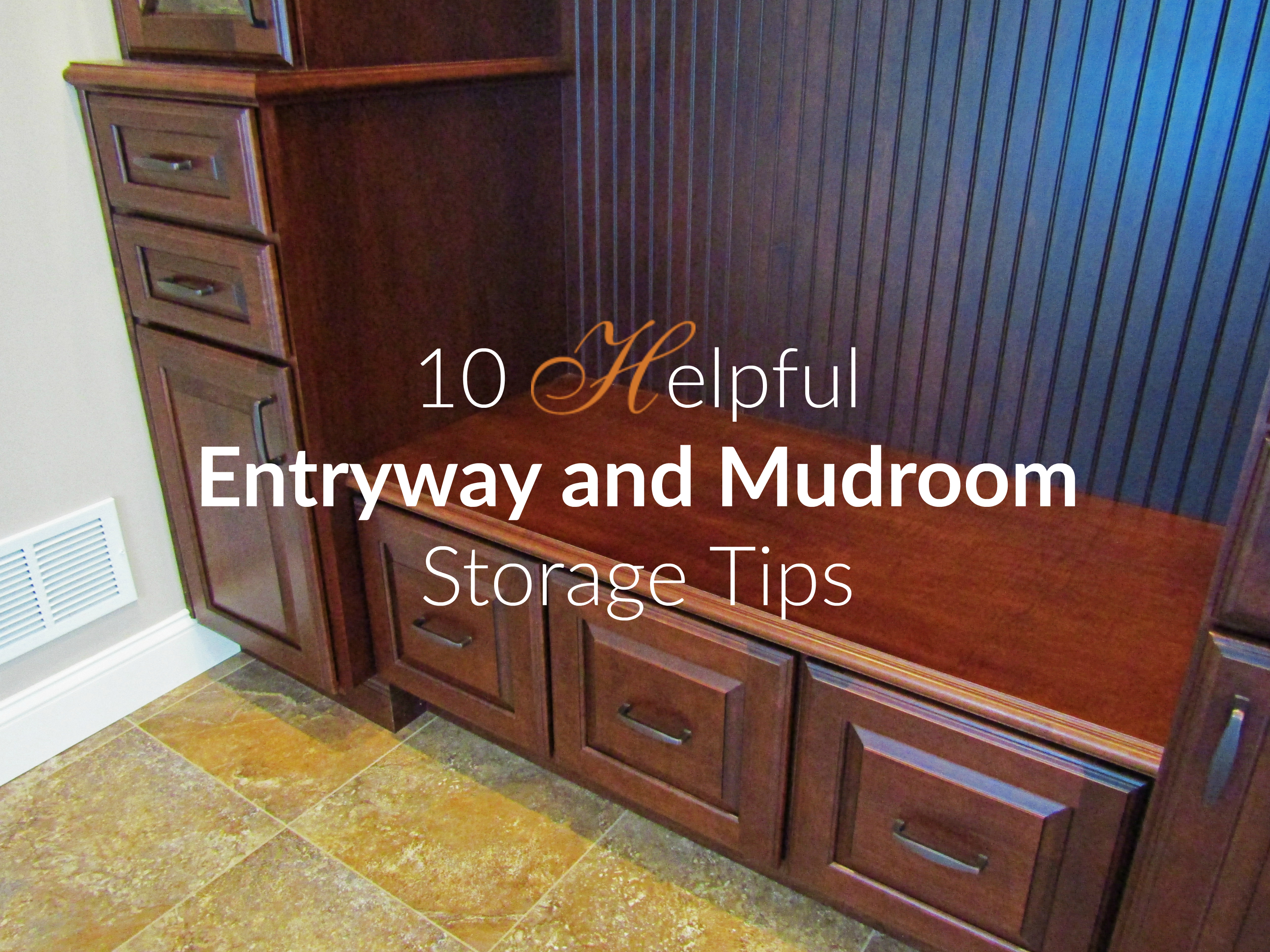 10 Helpful Entryway and Mudroom Tips