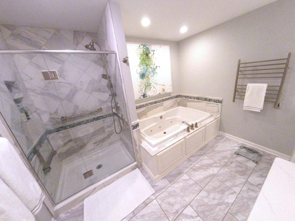 Luxurious Spa Like Master Bath B 113 Harrisburg