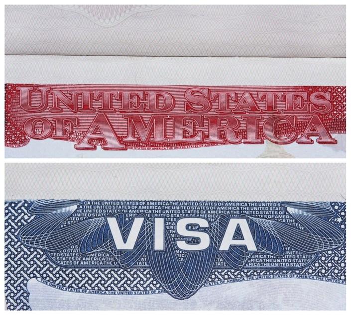 Visa Σφραγίδα ΗΠΑ