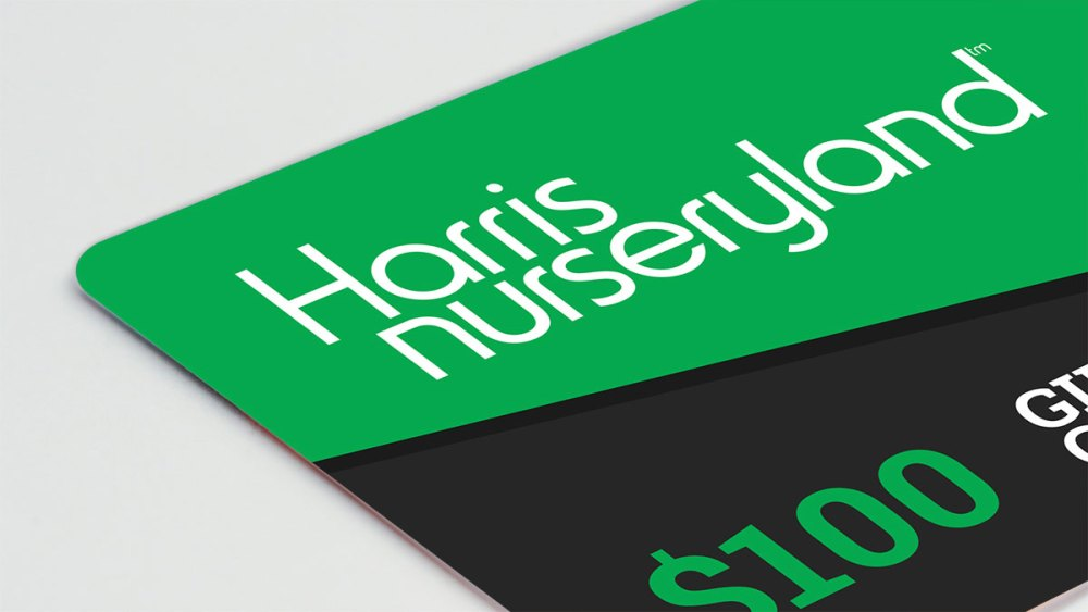 harris nurseryland gift cards
