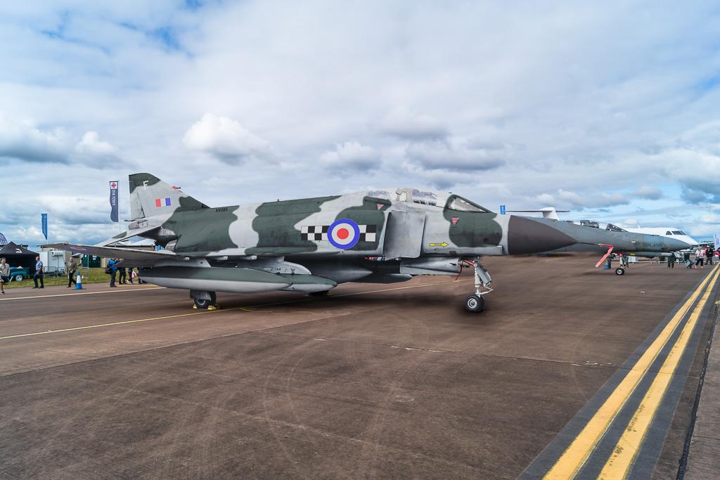 Repainted Phantom aircraft