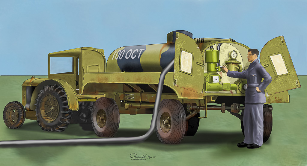 1940s RAF Fuel Bowser