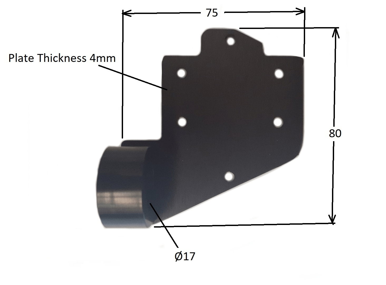 Pull Ring Driver mounting plate