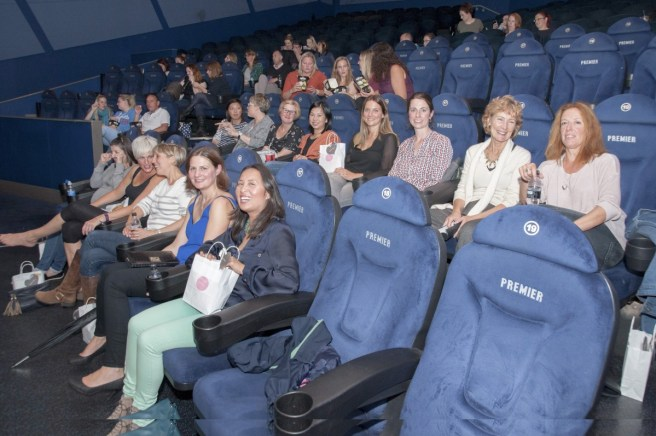Harrogate 'Bad Mom's enjoying the movie with Harrogate Mama Blog - photo credit Catherine Gibbin.jpg