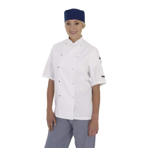 Chef Jacket with Press Stud Fastening