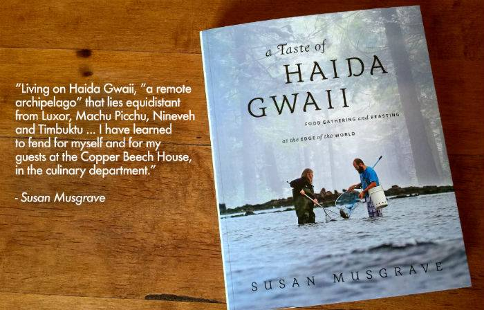 Susan Musgrave Forages and Falls in Love With Food on Haida Gwaii