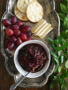 Green Onion and Red Wine Jam
