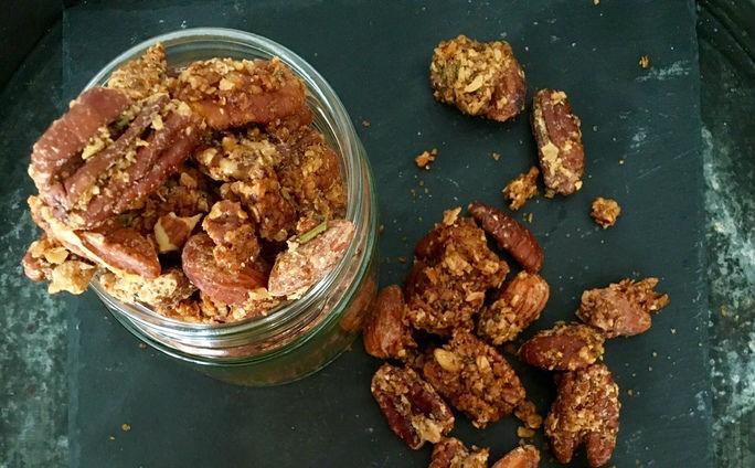 Spiced Granola Nuts