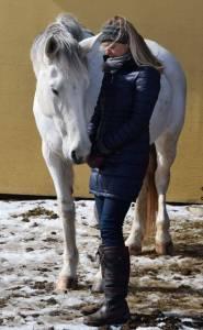 Jenn and horse