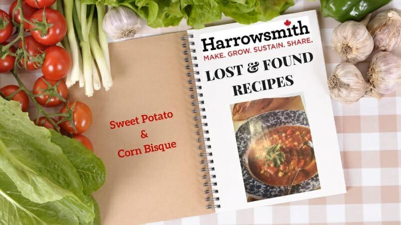 Sweet Potato & Corn Bisque