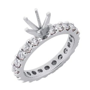 Harry Glinberg Jewelers - ETERNITY ENGAGEMENT RING