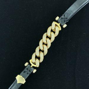 Harry Glinberg Jewelers - Cuban Link Diamond Bracelet