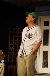 Star gazer: Nigel Newton as Frank Lubey seeks answers in astrology