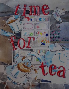Time for Tea: it's always time for a cuppa. Illustration: Harry Mottram