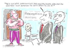 Cartoon Print Monthly soap box eunoch 001