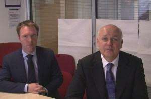 Dom Morris and Iain Duncan Smith1