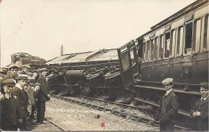 Crunch: another rail crash in Highbridge back in 1909