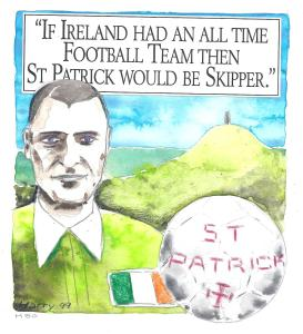 Illustration Life and Times St Patrick