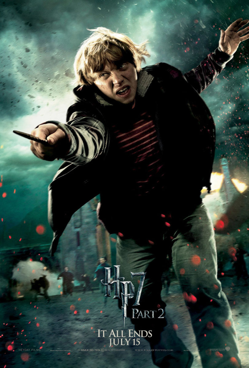 Harry Potter And The Deathly Hallows Part 2 Ron Poster