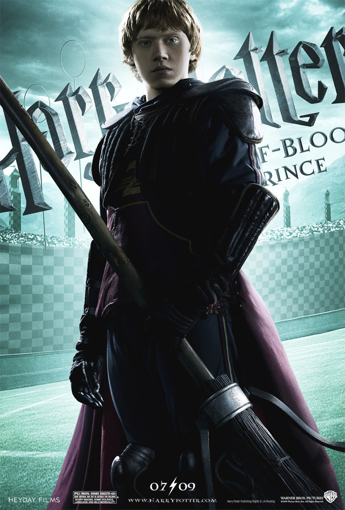 Harry Potter And The Half Blood Prince Ron Poster Harry