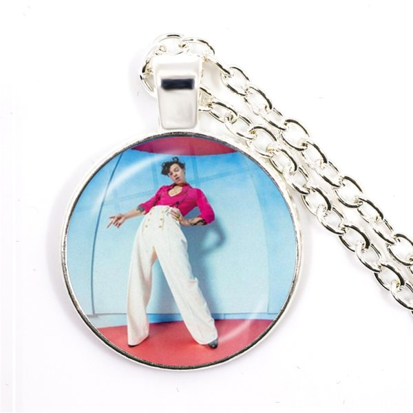 Harry Styles Silver-plated Pendant Necklace