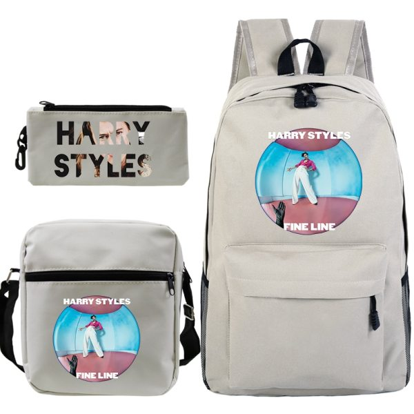 3 PCS/Set Harry Styles Printed Backpack