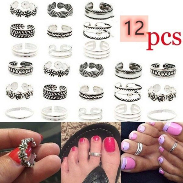 Harry styles foot rings set toe rings for women
