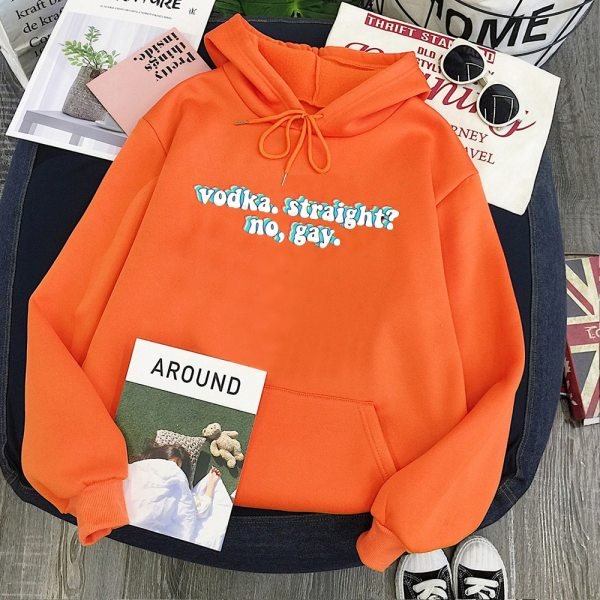 Harry Styles Sweatshirt Vodka Straight Women Hoodies