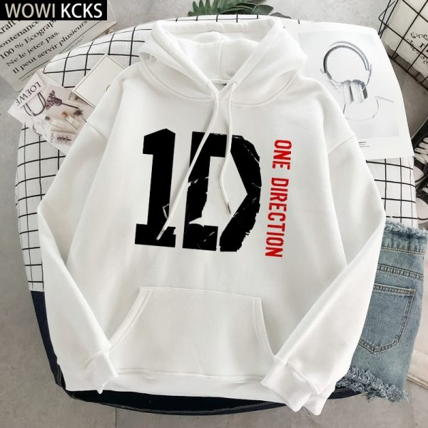 One Direction Hoodies Winter Clothes Streetwear Women Harry Styles Merch Print