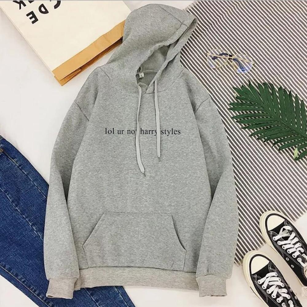 2020 Harry Styles Casual Letter Pullovers Women Hoodies Streetwear T