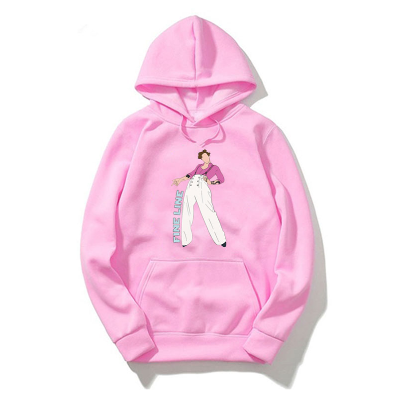 Harry Styles FINE LINE Hoodie Pink Clothing Men Polerone Winter Clothes Women Harajuku Shirt